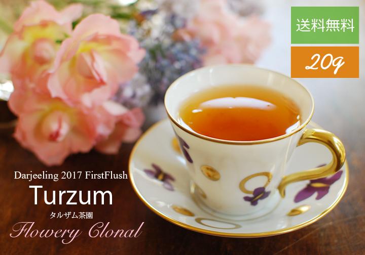 ダージリン2017ファーストフラッシュ・タルザム茶園